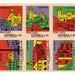 Czechoslovak matchbox labels (uncut sheet)