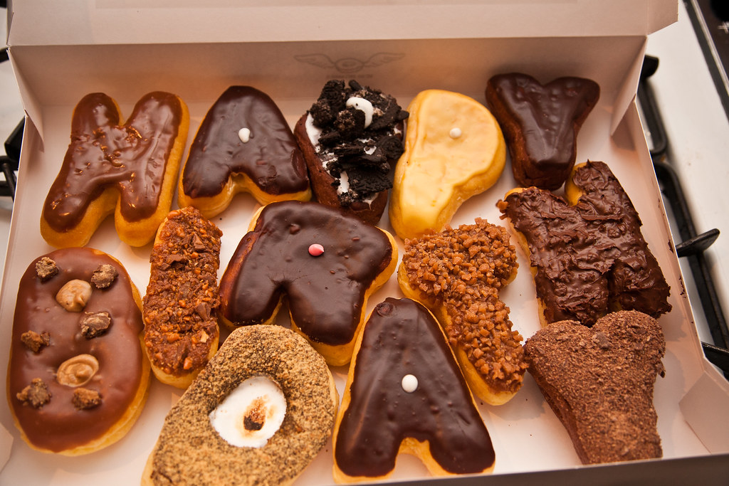 happy birthday donuts from sublime donuts here in