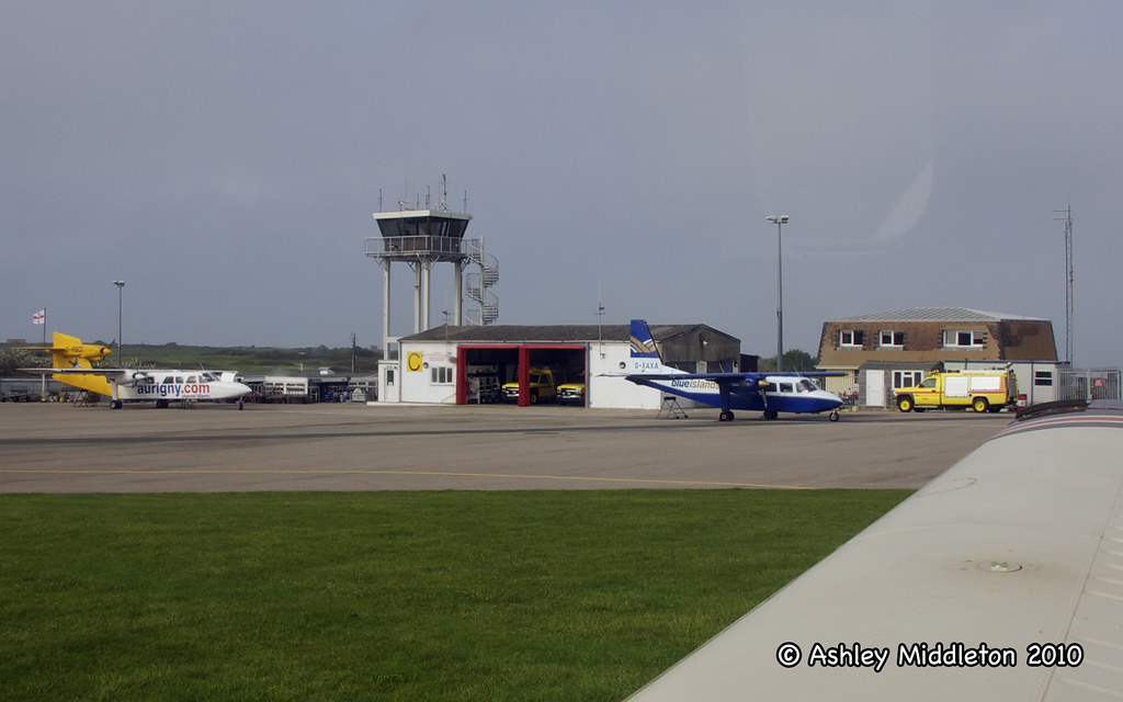 Alderney Airport Ashley Middleton Flickr