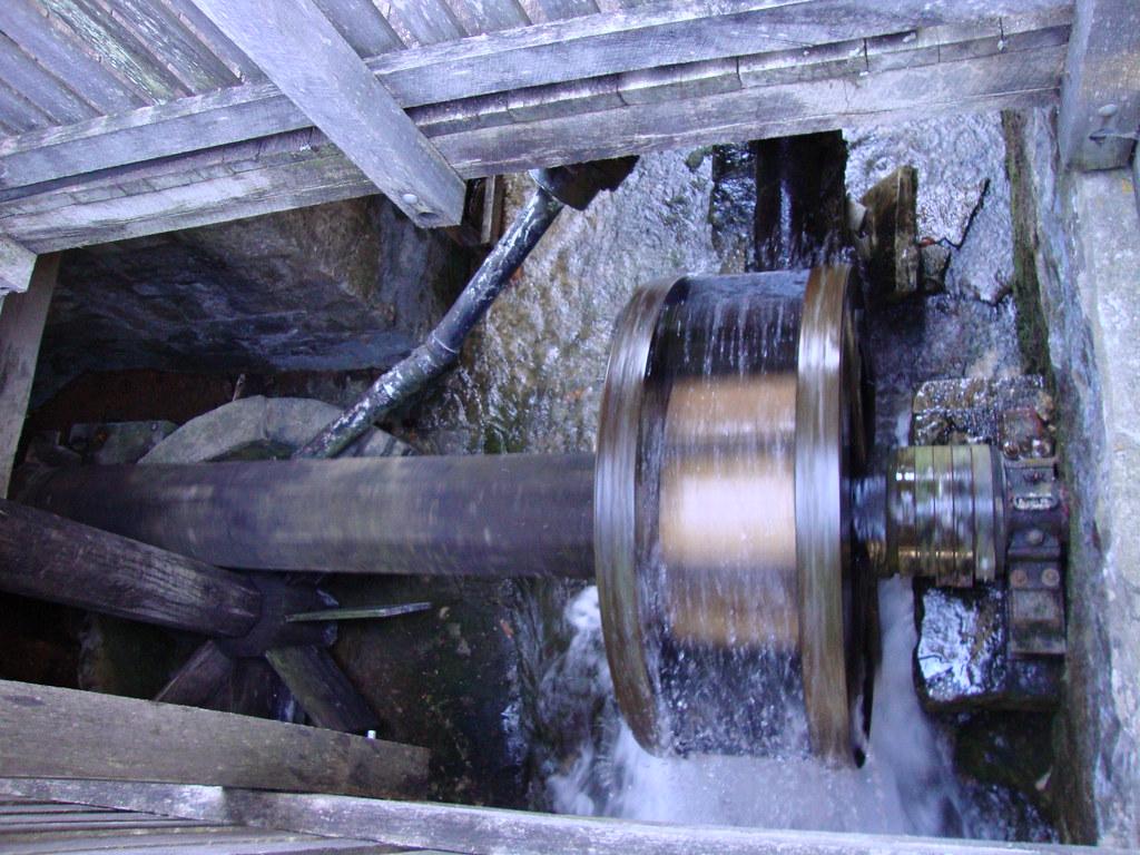 Wheel Mill Water Wheel Under The Saw Mill