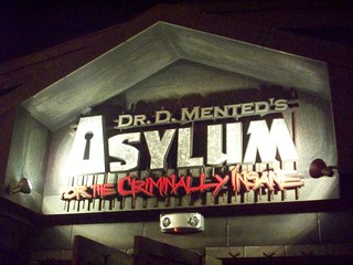 Cedar Point - Dr. D. Mented's Asylum for the Criminally Insane | by Andrew Borgen
