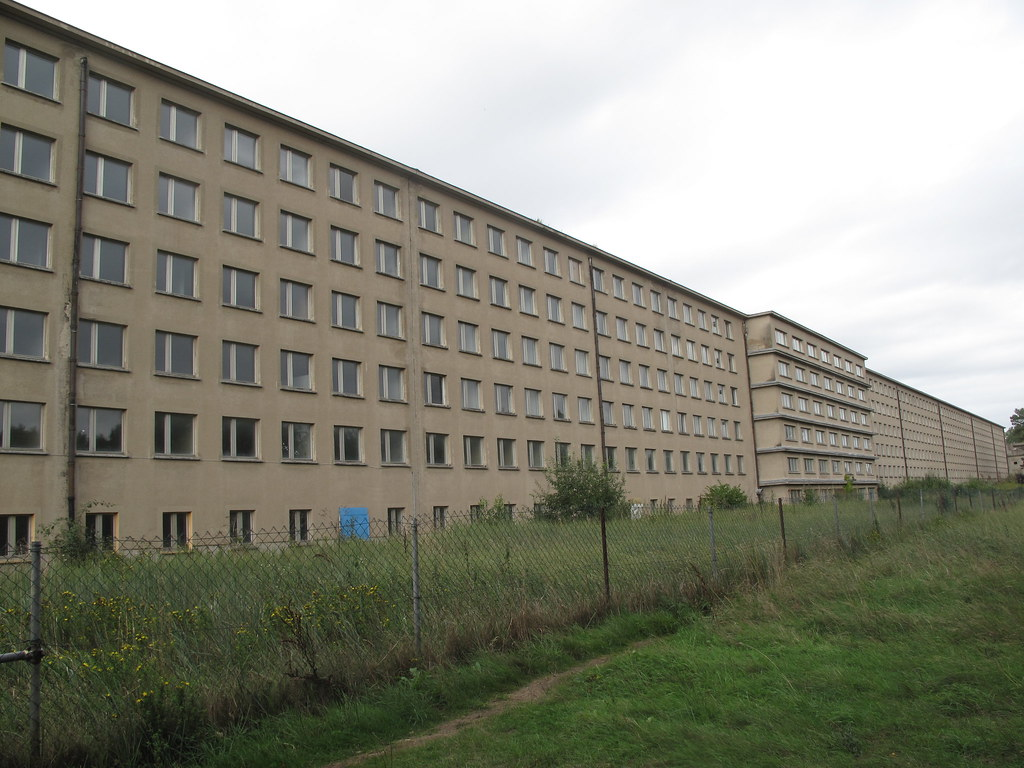 R gen prora hitler 39 s giant holiday complex today empt for Nazi holiday resort