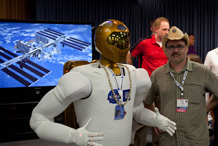 NASA Robonaut 2A  and Me | by Shaan Hurley