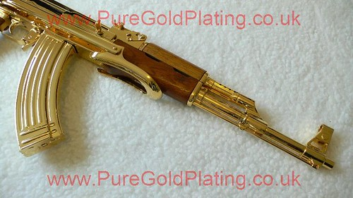 Gold Plated AK-47 j | by PureGoldPlating