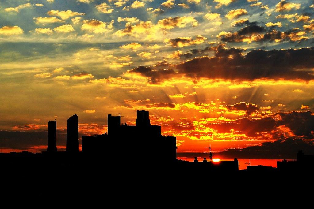 Resultado de imagen de amanecer madrid