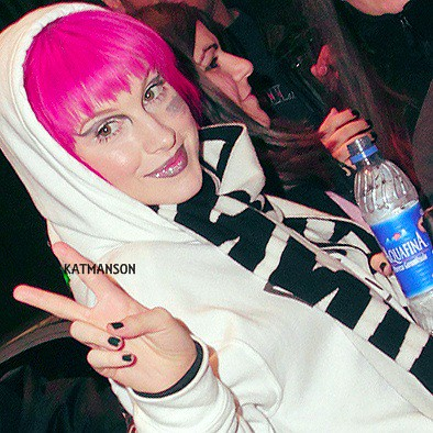 Hayley Williams Pink Hair 2010