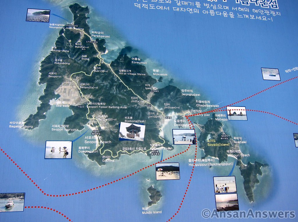 Deokjeokdo map 1 Ansan Answers Flickr