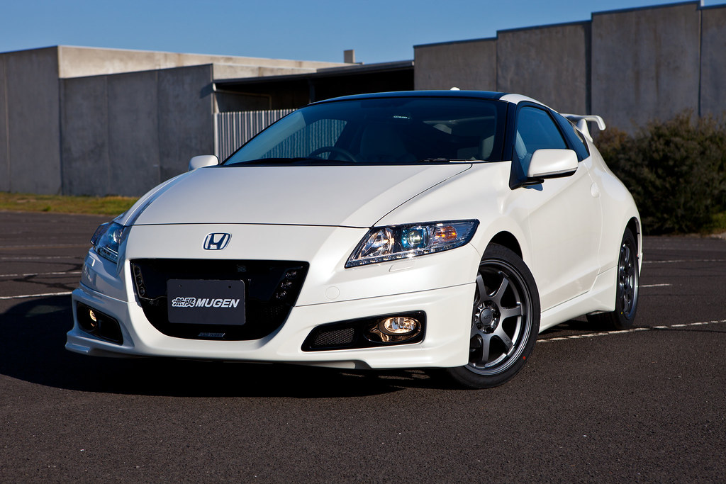honda crz mugen front on view of the 2011 crz complete