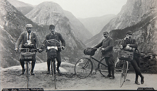 Norwegian mountain bicyclists 1889 | by geiranders1970