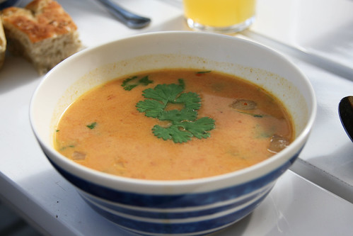 Red Lentil Soup With North African Spices America S Test Kitchen