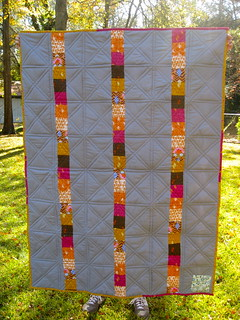 back of spiderweb quilt | by Ruth Sloan
