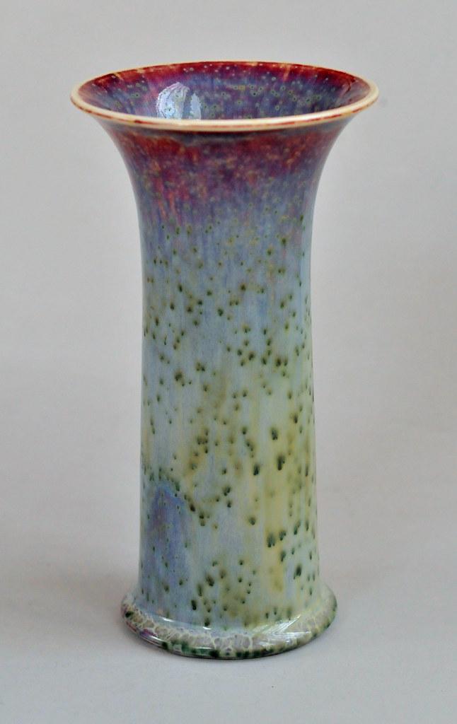 Ruskin High Fired Vase Nice Little Trumpet Vase By William Flickr
