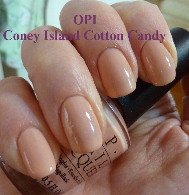 Coney Island Cotton Candy Opi Gel