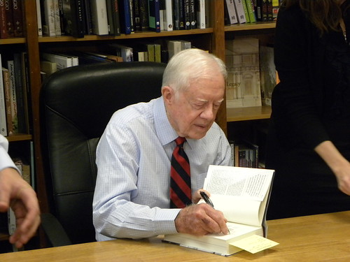 Former President Jimmy Carter | by Talk Radio News Service