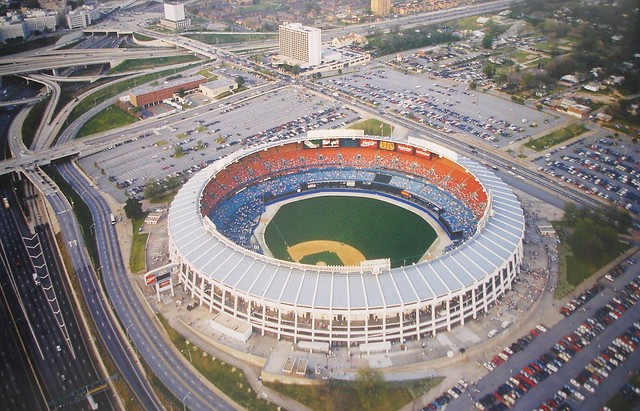 Atlanta Fulton County Stadium 1990's | Flickr - Photo Sharing!