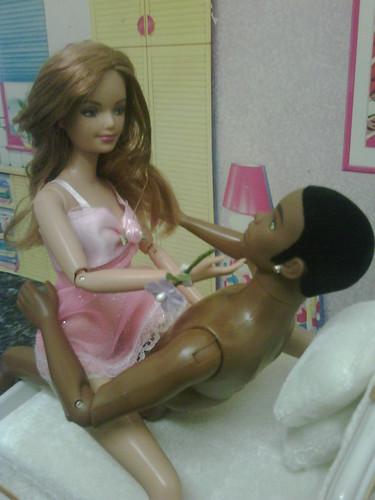 Ken masturbating dick in the kitchen 4