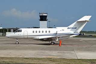 HAWKER 800XP Mercedita Airport PR | by Rnimrod