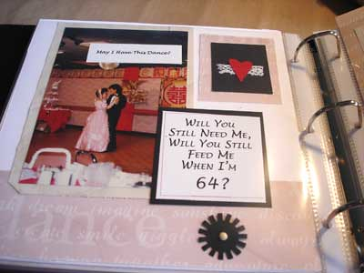 Scrapbook Layout In Anniversary Album This Layout Is One P Flickr