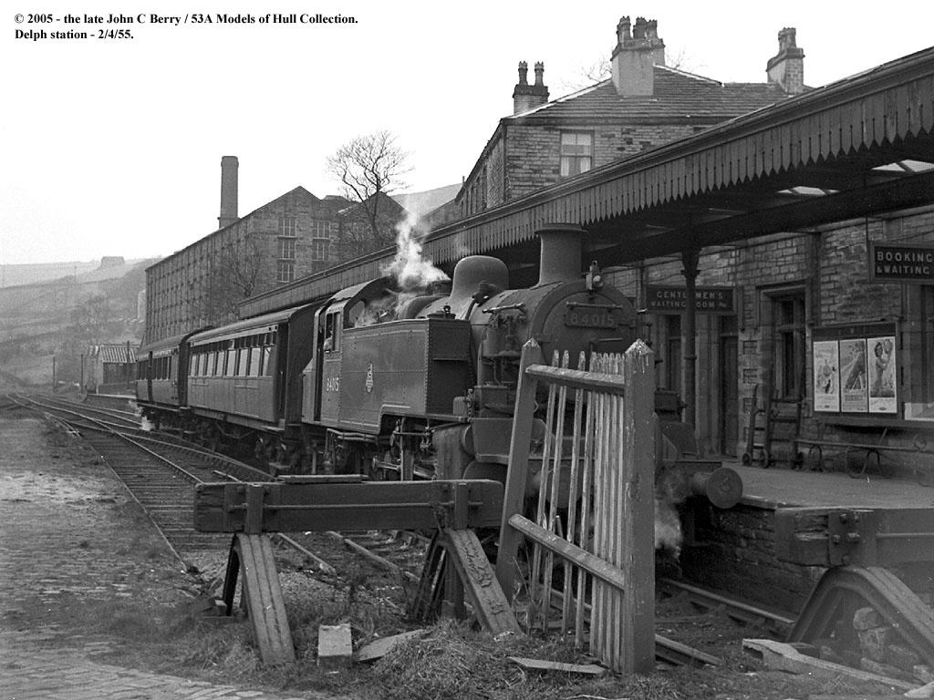 02 04 1955 Delph Near Oldham Br Standard Class 2mt