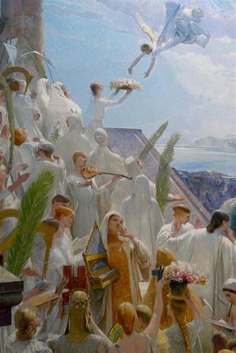 Paul robert d cor de la cage d 39 escalier du muse e d 39 art e - Decoration de cage d escalier ...