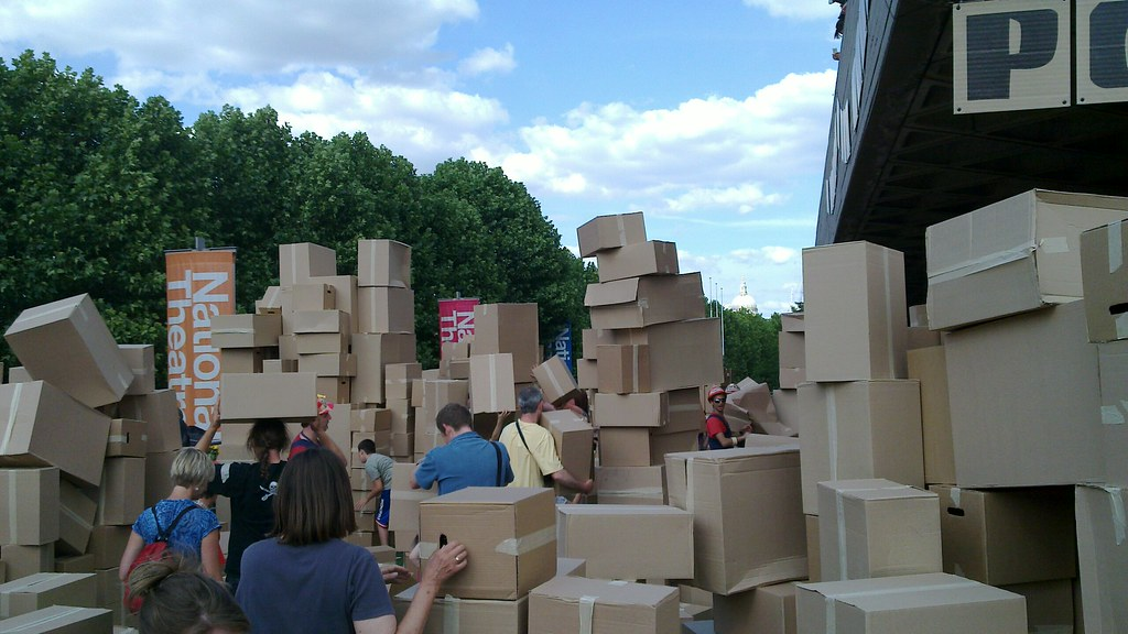 recycle cardboard, changing the world