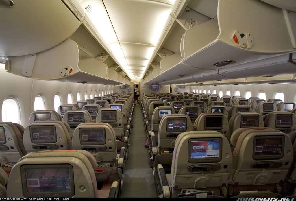 emirates a380 economy class wwwairlinersnetphoto