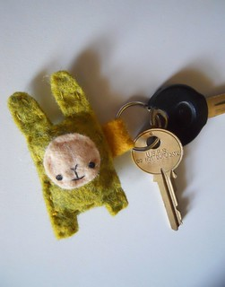 Bunny Keychain | by Skizzarah