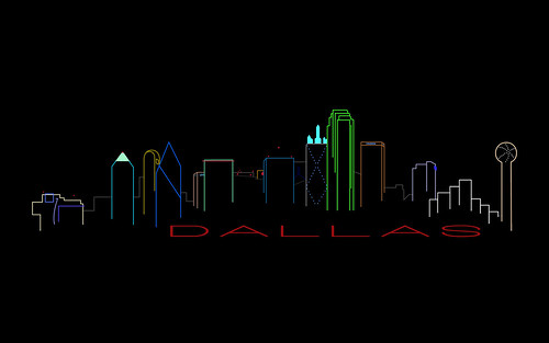 Dallas Skyline Large By Popular Demand Here Is The