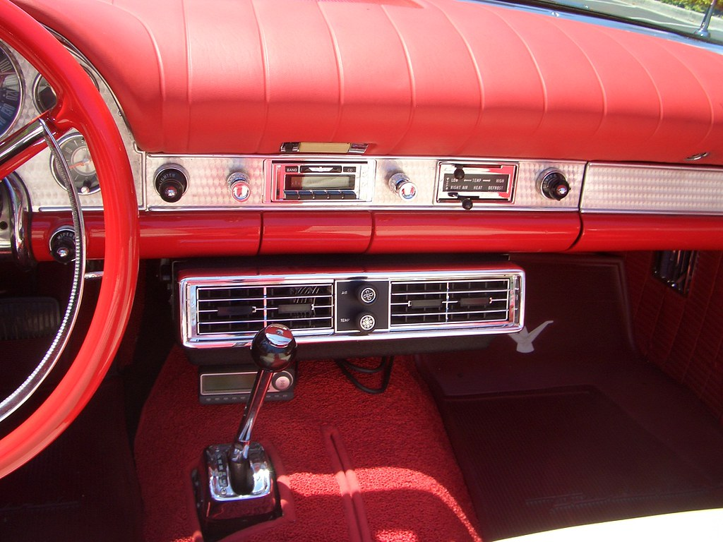 My 1957 Ford Thunderbird Interior Amp A C My 1957 Ford