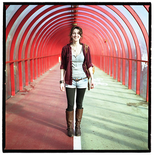 Kirsty in the Tunnel | by 2plus2isfive