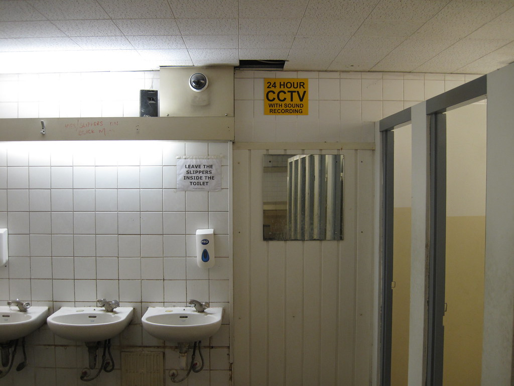 24 hour cctv with sound recording in a bathroom!? | i asked … | flickr