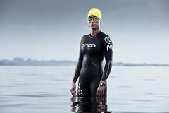 triathlete - swim by TomaszJakubowski