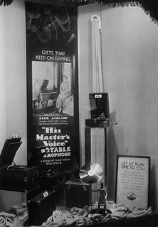 hmv 363 Oxford Street, London - Essie Ackland window display - mid-late 1920s
