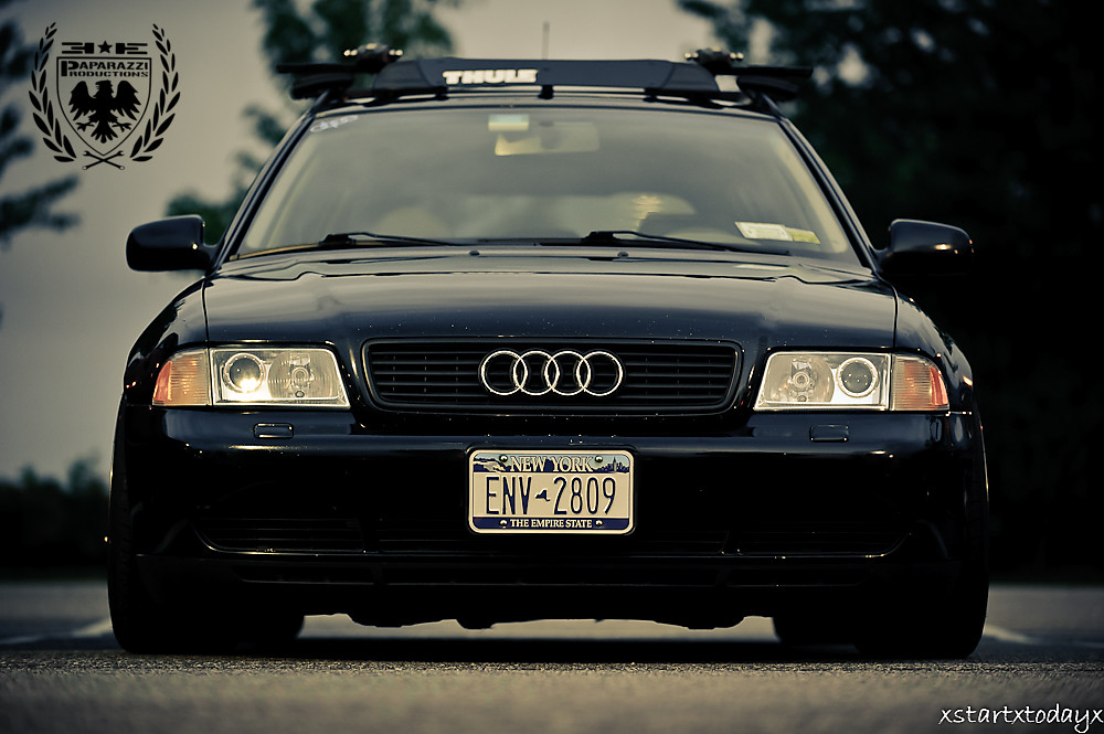 White Audi A4 >> B5 A4 Avant | Dan's black B5 Audi A4 Avant. D700, 70-200mm f… | Flickr