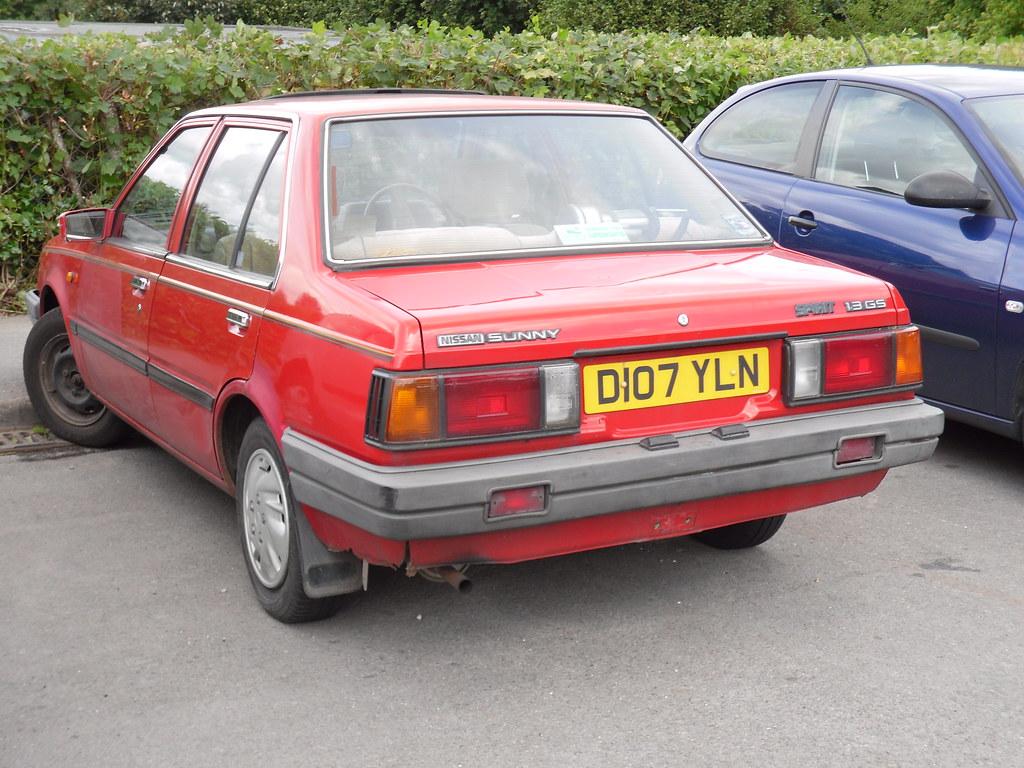 1986 Nissan Sunny B11 1 3 Gs Spirit Saloon As Far As Im