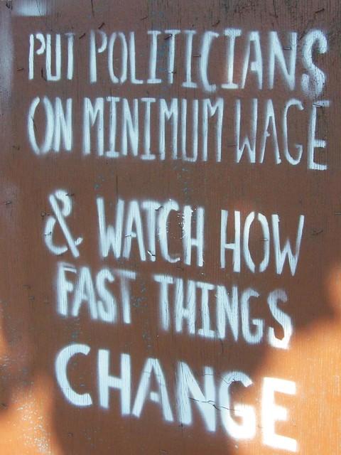 Minimum Wage Fast Food Restaurants