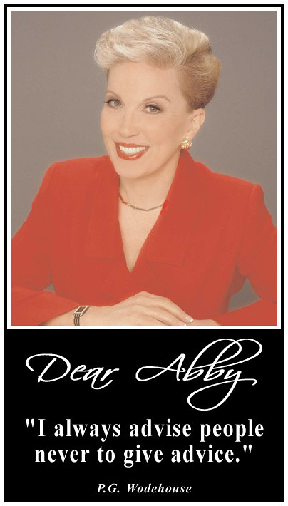 Image result for dear abby