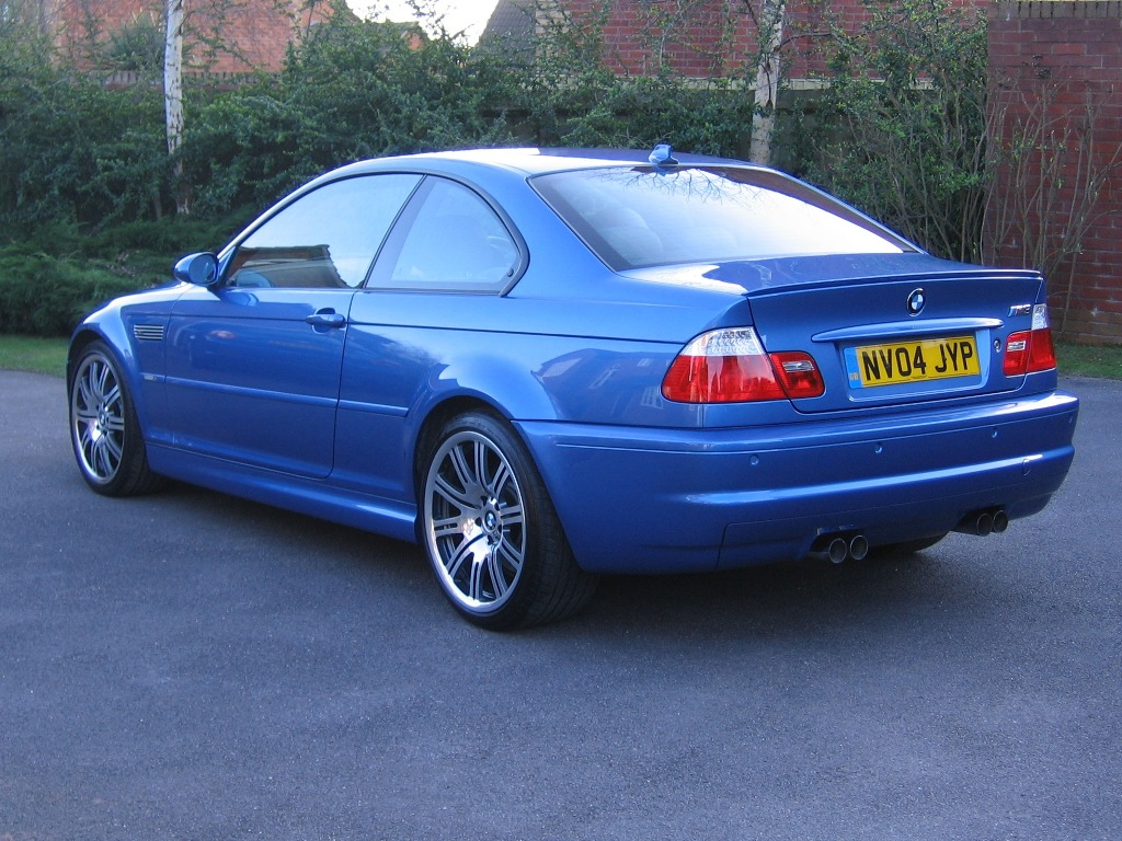 E46 M3 Coupe Estoril Blue Individual Bmw Car Club Gb