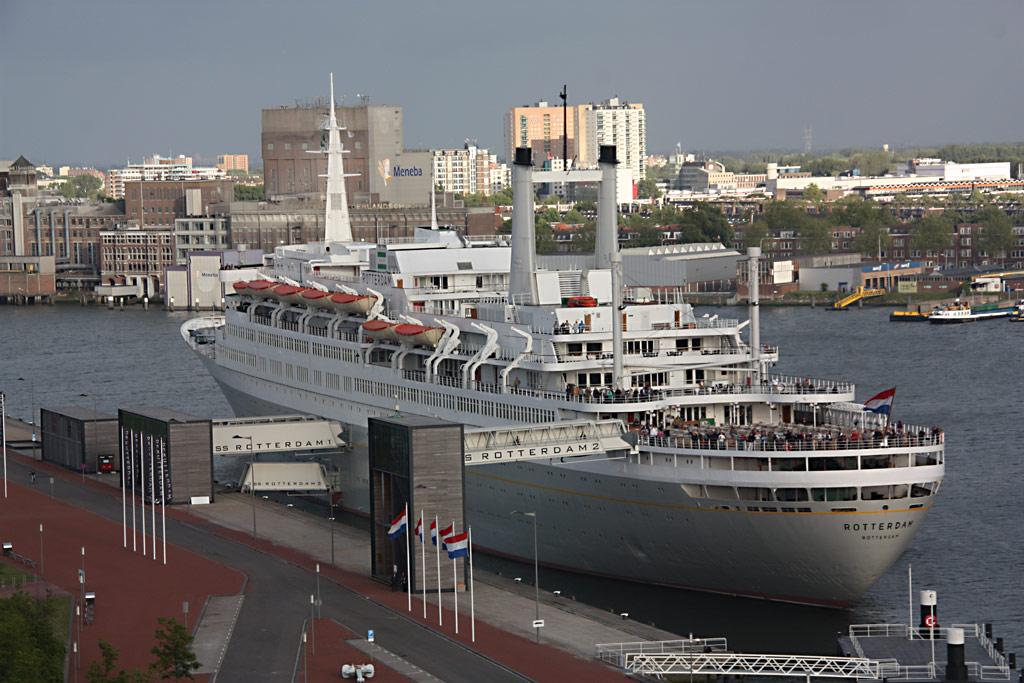 MS Rotterdam Hotel At Rotterdam MS Rotterdam Hotel Flickr - Ms rotterdam