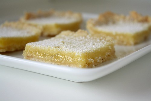 SMS: Toasted Almond Lemon Bars | by Tracey's Culinary Adventures