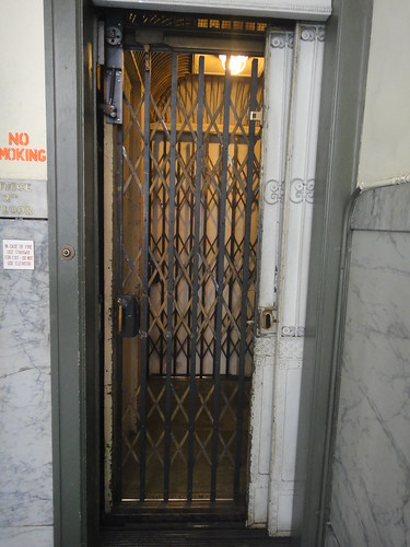 Old Fashioned Elevator Sign