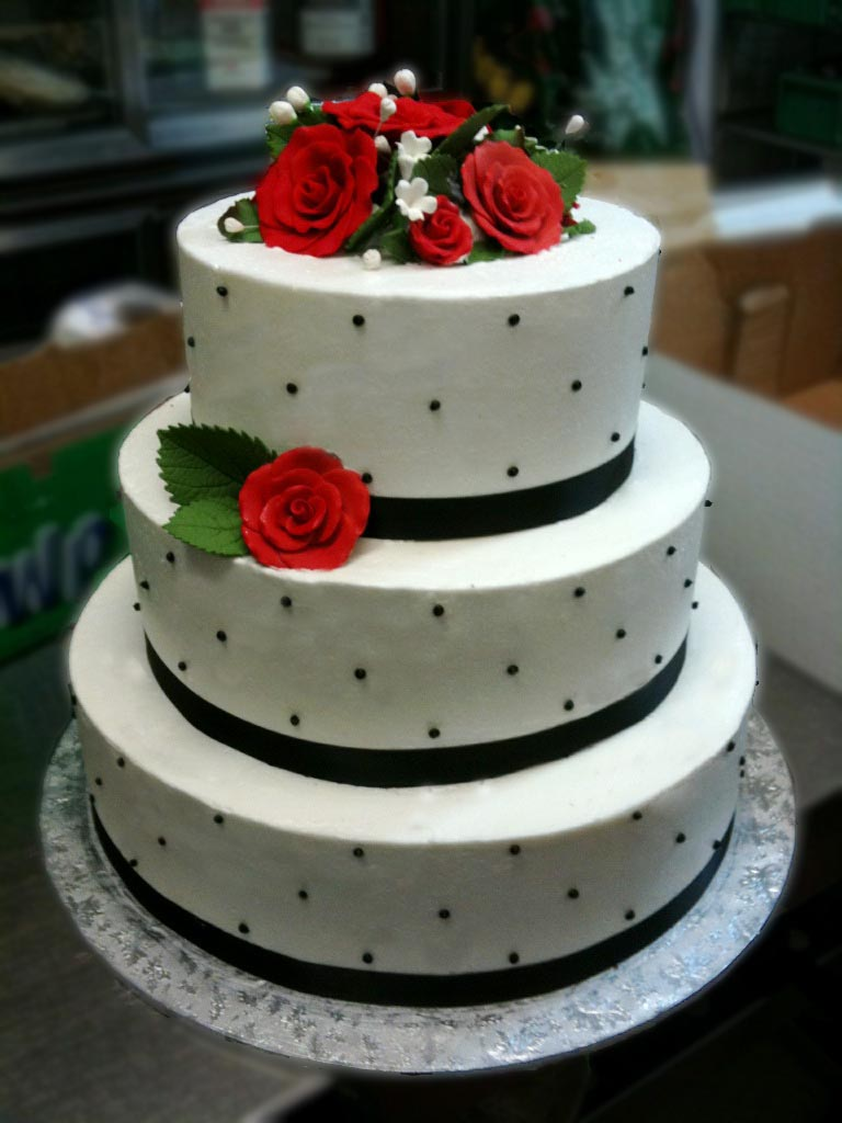 red wedding cakes simple black white and wedding cake conti s pastry 19170