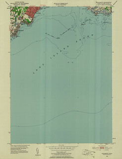 Woodmont Quadrangle 1951 - USGS Topographic Map 1:24,000 | by uconnlibrariesmagic