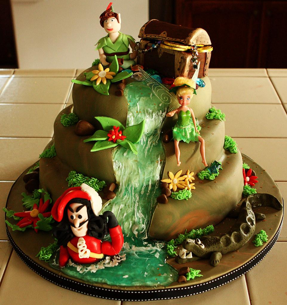 Tinkerbell And Peter Pan Cake Ideas