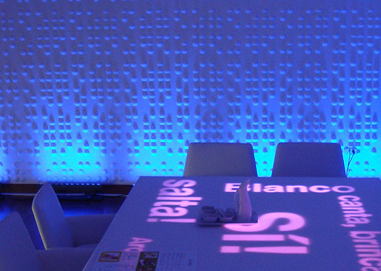 ... Braille Wall Flat Restaurant Installation | By Inhabit Living