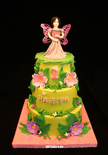 Fairy brunette cake | by Daria ...
