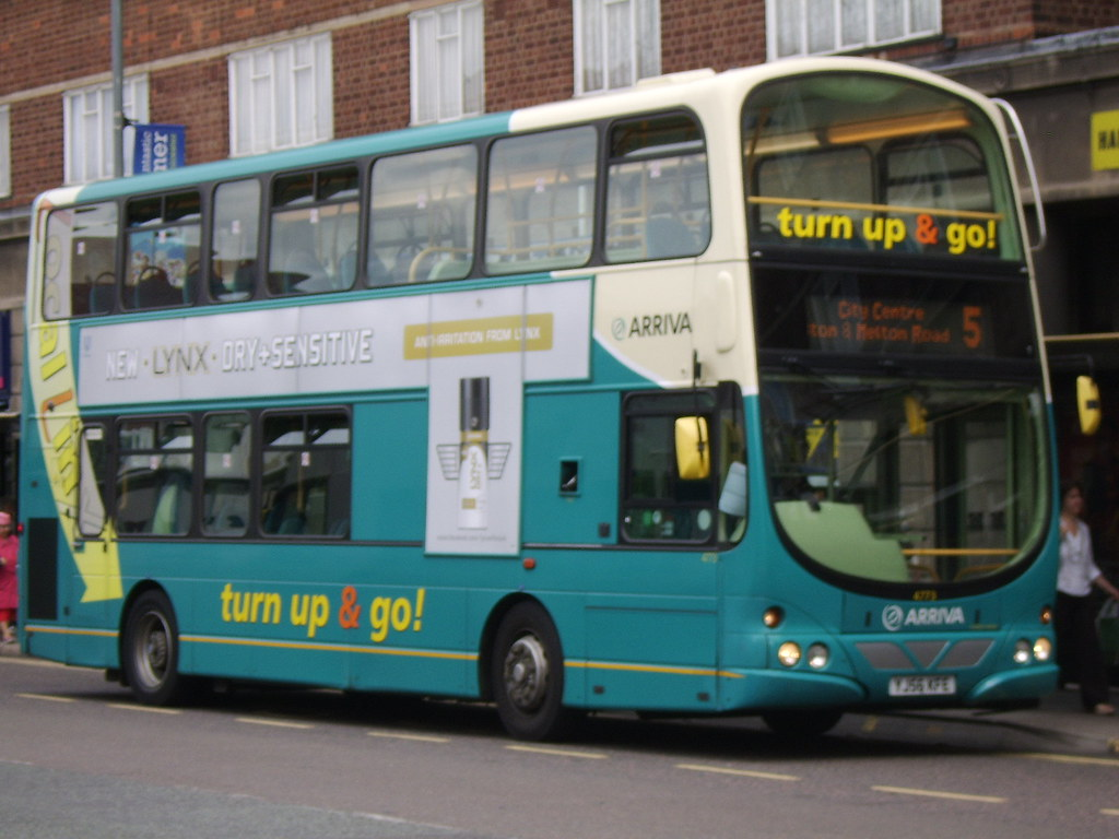 Arriva Bus Leicester Judy And Floss Flickr