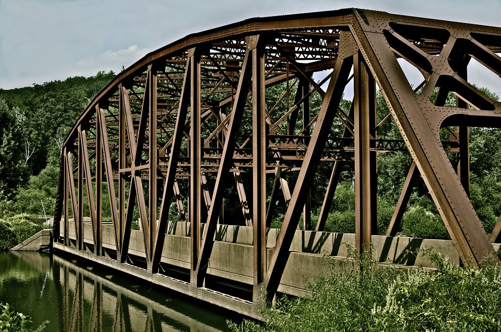 Nebraska Bridge Nebraska Bridge In Tionesta Pa