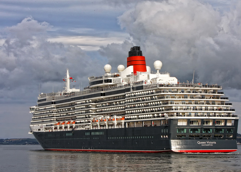 Queen Victoria Ms Queen Victoria Qv Is A Cruise Ship In Flickr
