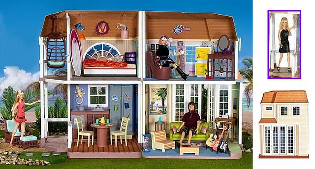 Hannah Montana Malibu Beach Doll House Flickr Photo